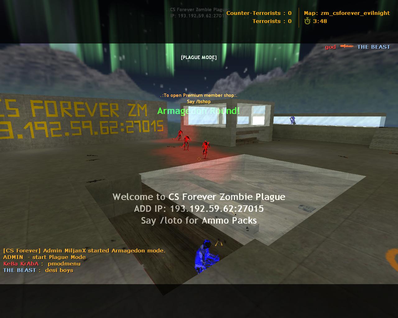 Armagedon Mode Counter Strike Zombie Plague