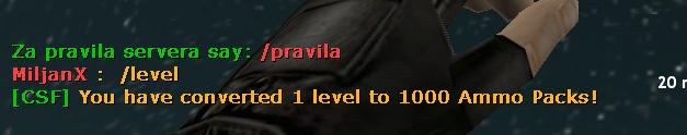 Convert Level Text Counter Strike